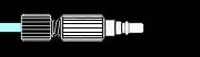 雾化器气体管线和接头