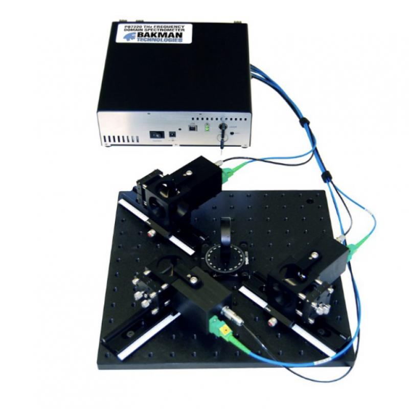 双通道太赫兹频域光谱仪