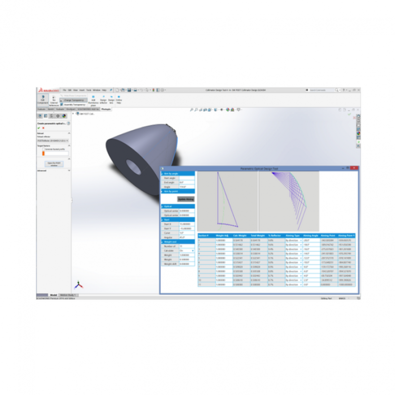 Photopia非成像光学设计软件